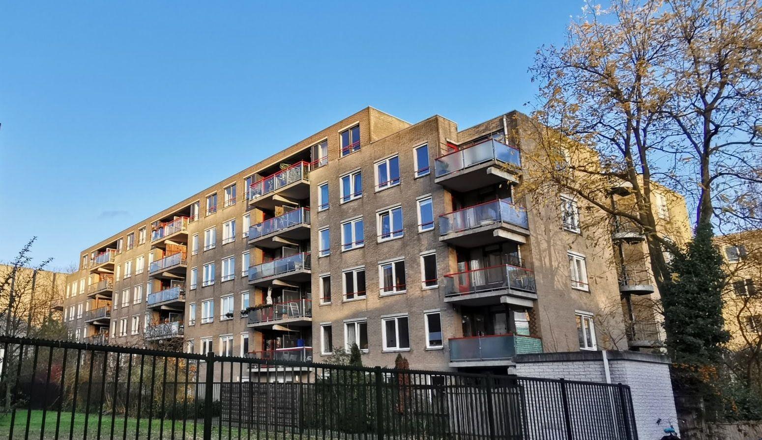 Het appartementencomplex aan De Blieckstraat