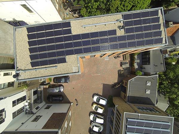 Foto gemaakt door NewSolar (installateur zonnepanelen)