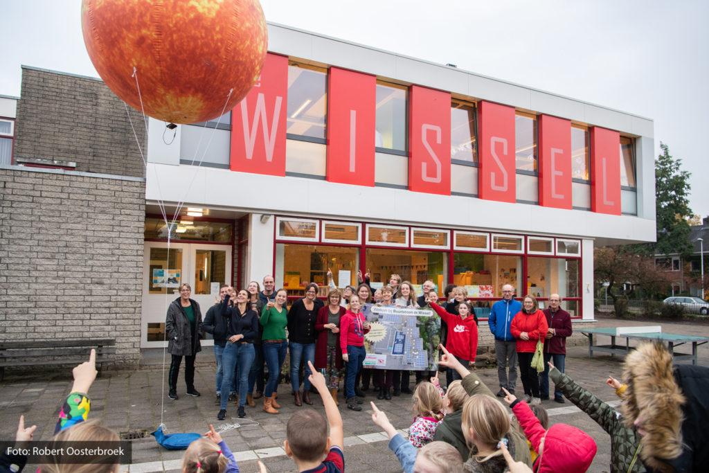 Openingsfeestje Buurtstroom De Wissel